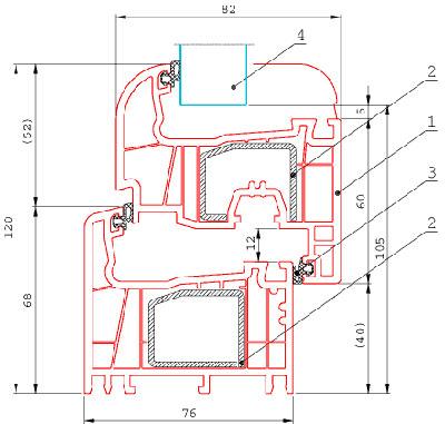 Схема установки пластиковых окон фото 286